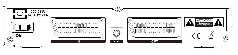 Face arrière de l'émetteur N4